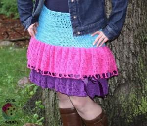 Kelli's Favorite Skirt ~ Sick 'Lil Monkeys - Cre8tion Crochet