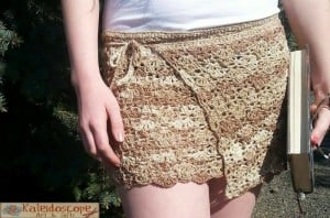 Lovely Lily Swim Cover-Up ~ Lisa Jelle ~ Cre8tion Crochet