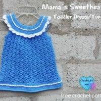 Mama's Sweetheart! Toddler Dress/Tunic ~ Erangi Udeshika – Crochet For You