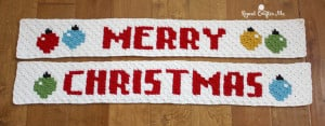 Merry Christmas Pixel Graph ~ Repeat Crafter Me