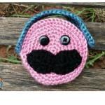 Mustache Ear Buds Case ~ Sick 'Lil Monkeys – Cre8tion Crochet
