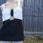 Fairest Lady Crochet Tank Top ~ RaeLynn Orff - Cre8tion Crochet