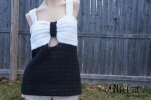 Fairest Lady Crochet Tank Top ~ RaeLynn Orff - Cre8tion Crochet