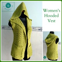 Hooded Vest ~ Maz Kwok's Designs