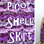 Picot Shell Skirt ~ Meladora's Creations