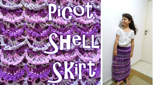 Picot Shell Skirt ~ Meladora's Creations