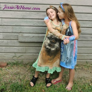 Re~Tee Kids Dress ~ Jessie At Home