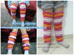 Riptide Leggings ~ Meladora's Creations