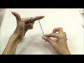 Making a Slip Knot the Easy Way ~ Goddess Crochet