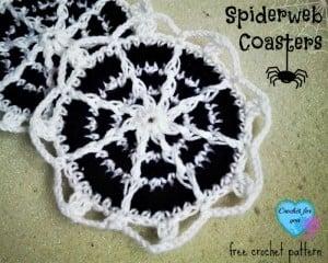 Spiderweb Coasters ~ Erangi Udeshika - Crochet For You