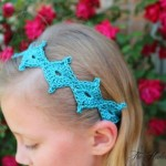 Spring Diamond Tie Back ~ Shannon Kilmartin - Cre8tion Crochet