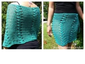 St. Croix Beach Wrap ~ Diane Hunt - Cre8tion Crochet
