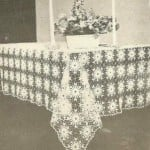 Crystal Tablecloth ~ Antique Crochet Patterns