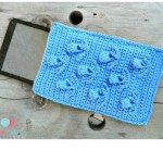 The Blooming Thistle Tablet Cozy ~ Lisa Egan – Cre8tion Crochet