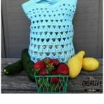 Triangle Stitch Crochet Market Bag ~ Creative Threads by Leah – Cre8tion Crochet