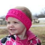 Twisted Ridges Earwarmer (Toddler Size) ~ Nondas Hensley – Cre8tion Crochet