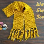 Wave Stitch Scarf ~ Meladora's Creations