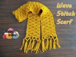 Wave Stitch Scarf ~ Meladora's Creations