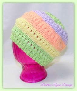 Children's Whimsical Warmth Beanie ~ Beatrice Ryan Designs