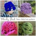 Whirly Bird Children's Hat ~ Lisa Jelle – Cre8tion Crochet