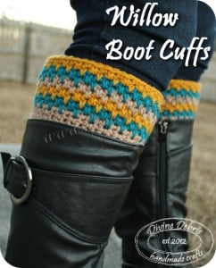 Willow Boot Cuffs ~ Divine Debris