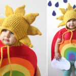 Sun Hat Pattern and Rainbow Costume ~ Repeat Crafter Me