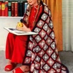 Americana Afghan Pattern ~ Free Vintage Crochet