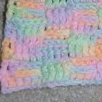 Basketweave Afghan Square ~ Crochet N More