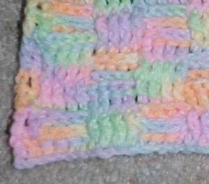 Basketweave Afghan Square ~ Crochet N More