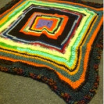 Simple Stash Buster Blanket ~ Treasures Made From Yarn