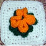 Bonnie's Flower Afghan Square ~ Crochet N More