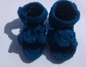 Booties ~ Crochet/Crosia Home