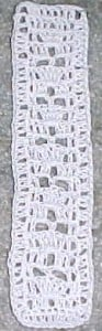 Cathedral Windows Bookmark ~ Crochet N More