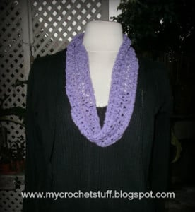 Circular Scarf ~ Crochet and Other Stuff