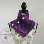 Enchanted Evening Button Cowl ~ The Stitchin' Mommy