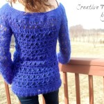 Wicker Weave Sweater ~ Creative Threads by Leah – Cre8tion Crochet