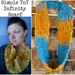 Simple TnT Infinity Scarf ~ Nondas Hensley – Cre8tion Crochet