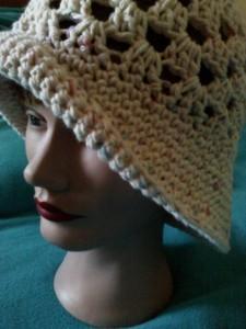 Granny Summer Cloche Hat ~ Dee Ann H - Joyful In Tribulation