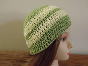 Striped Hat ~ Barb's Crochet