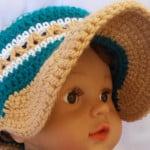 Crochet Baby Brim Hat ~ aamragul – Crochet/Crosia Home