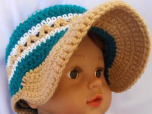 Crochet Baby Brim Hat ~ aamragul - Crochet/Crosia Home