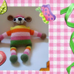 Huggums the Bear ~ Craftybegonia