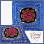 Lilies On the Water - 12 inch Square ~ Designs from Grammy's Heart, with Love