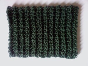 Mesh Rib Cowl ~ Dee Ann H - Joyful In Tribulation