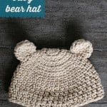 Newborn Baby Bear Hat ~ Oombawka Design