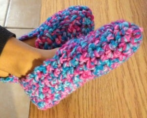 Crochet Slippers ~ Hooking is a Lifestyle