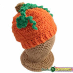 Li'l Pumpkin Hat ~ Stitches 'N' Scraps