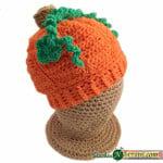 Li'l Pumpkin Hat ~ Stitches 'N' Scraps