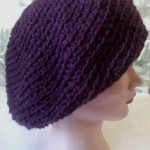 Soft French Beret ~ Dee Ann H - Joyful In Tribulation