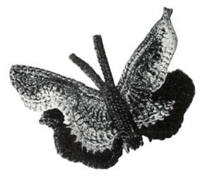 Butterfly Hair-Do #1163 ~ Free Vintage Crochet